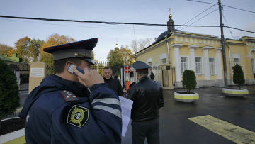 у Ваганьковского кладбища
