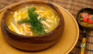 суп куриный-лапша