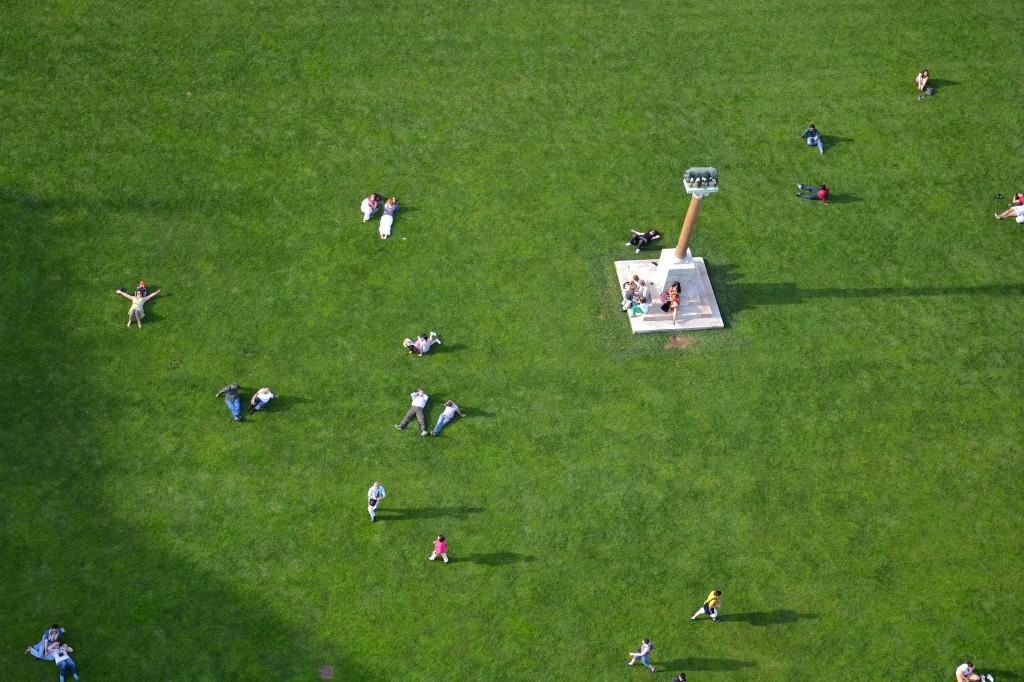 люди с Пизанской башни
