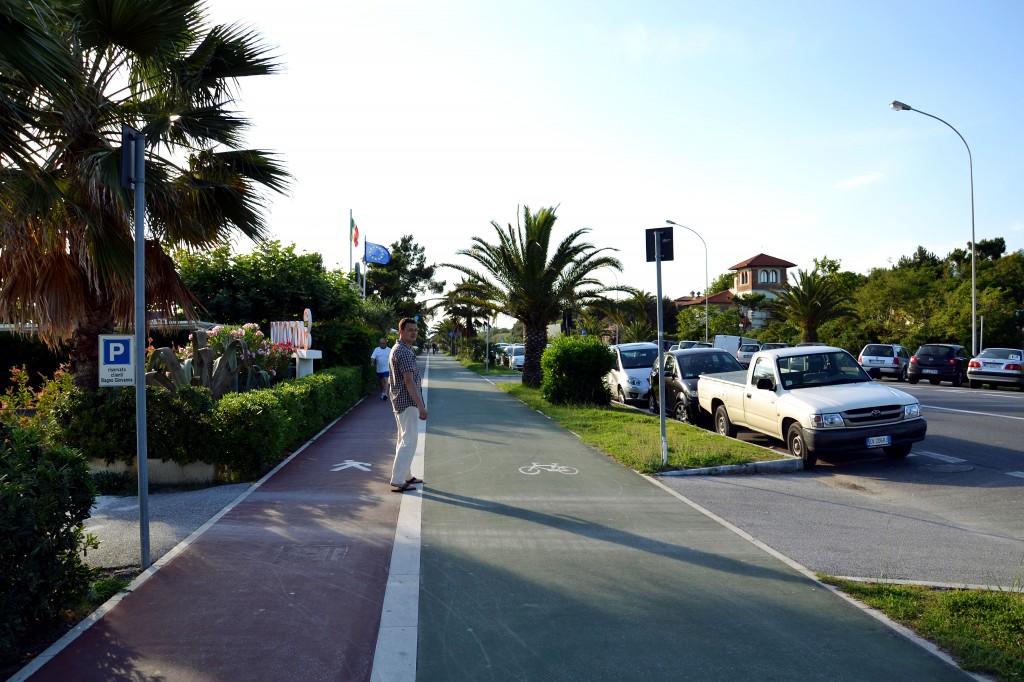 дорожки для пешеходов и велосипедов